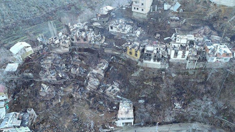 Artvin'de yangın felaketinin boyutu, gün ağarınca ortaya çıktı