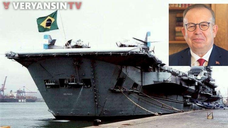 Türkiye'ye uçak gemisi geliyor! Cihat Yaycı: Gemiyi sökmek yerine...