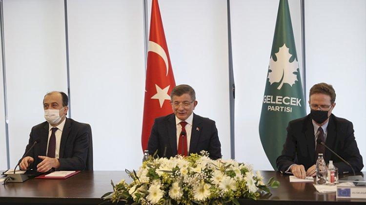 Gelecek Partisi'nde 'AB' zirvesi... Büyükelçiler Davutoğlu ile görüştü