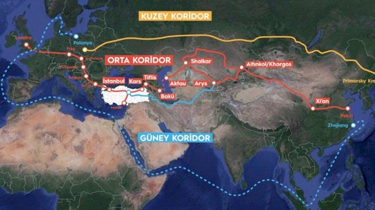 Ankara'dan Süveyş Kanalı'na alternatif öneri: Kuşak Yol Orta Koridoru