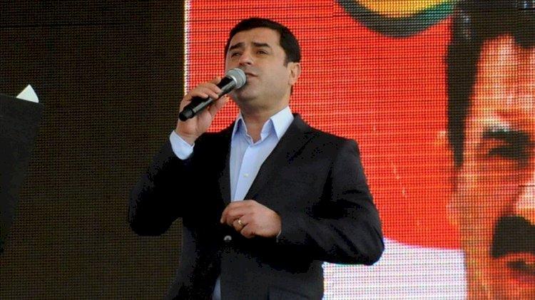 Selahattin Demirtaş'tan CHP'ye üstü kapalı tehdit: Yoksa üçüncü ittifak kurulur