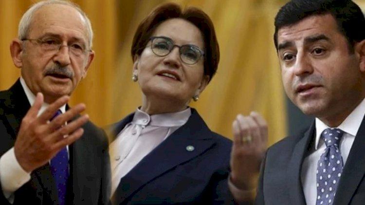 'Selahattin Demirtaş, CHP ve İyi Parti'ye ültimatom verdi'
