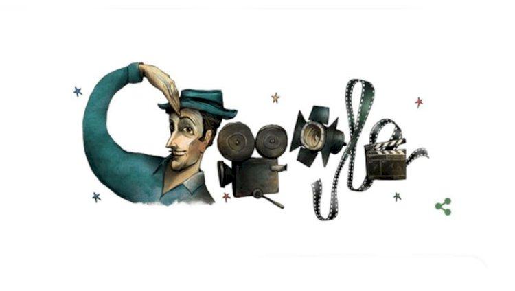 Google, Sadri Alışık'ı Doodle yaptı! Sadri Alışık kimdir, nereli?