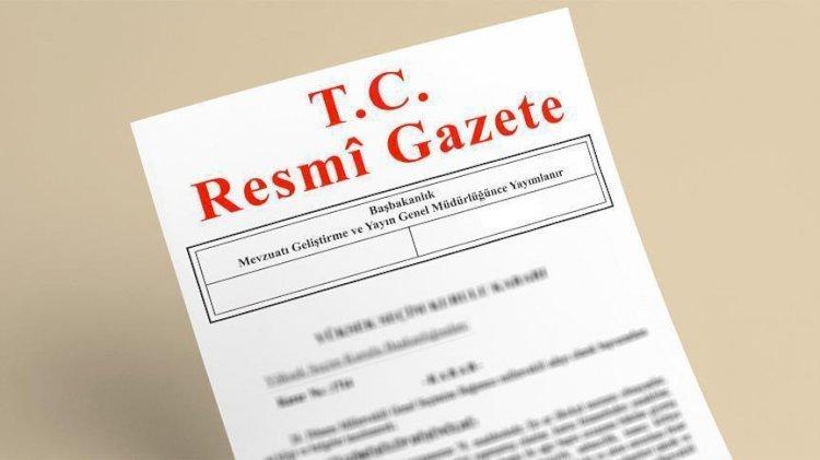 3 bakanlığa ait atama kararları Resmi Gazete'de