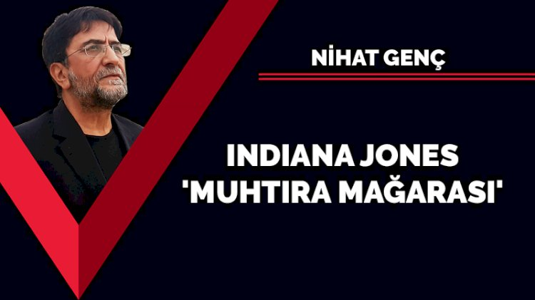 Indiana Jones 'muhtıra mağarası'