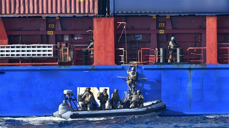 Fransa'dan Türk şirketine ait gemide arama