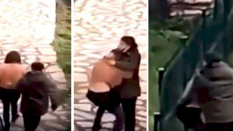 İstanbul'da parkta yürüyen kadın dehşeti yaşadı