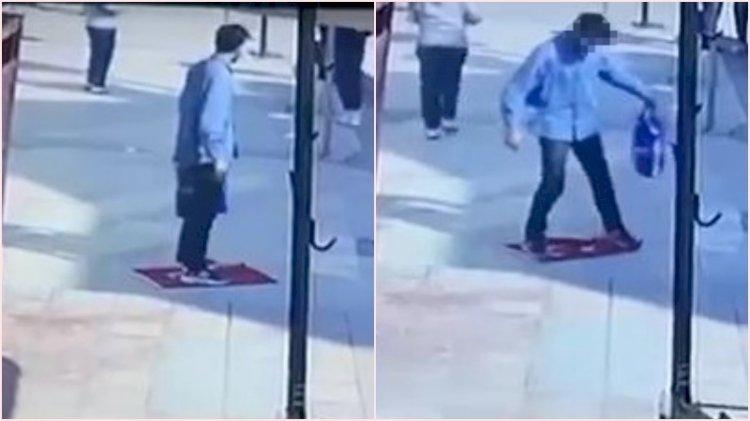 Türk bayrağını yere serip üzerine basan adam hakkında yeni gelişme