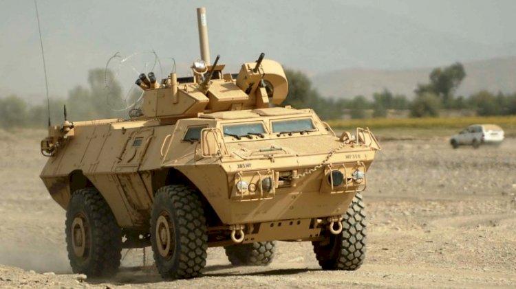 ABD Yunan ordusuna 1200 zırhlı araç hibe etti
