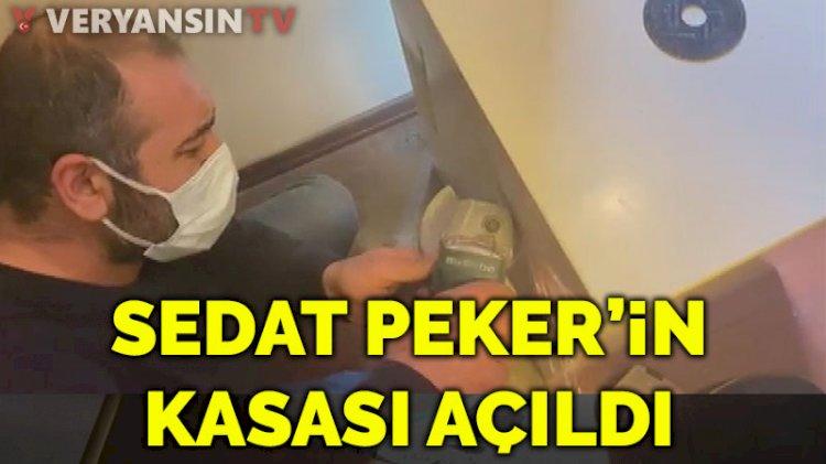 Sedat Peker'in kasası açıldı
