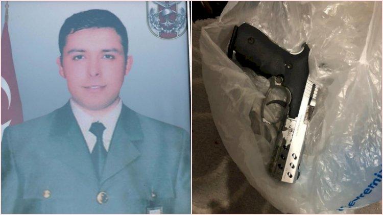 Gara şehidinin tabancası teröristin evinden çıktı