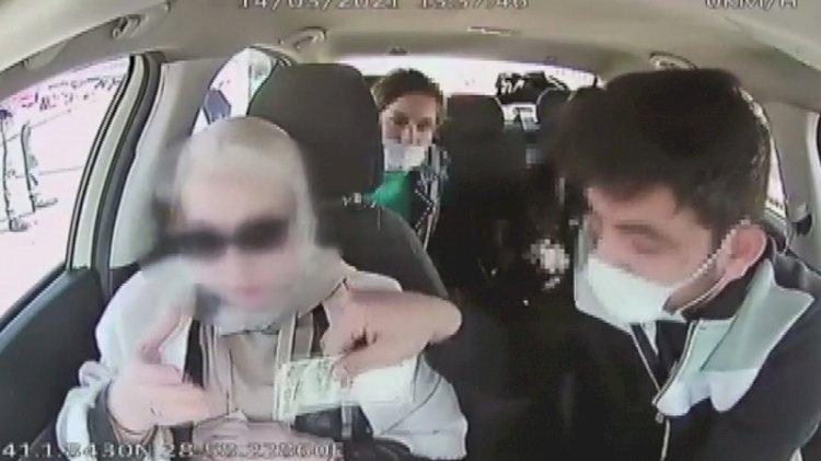 Taksici 4 bin doları el çabukluğuyla böyle çaldı