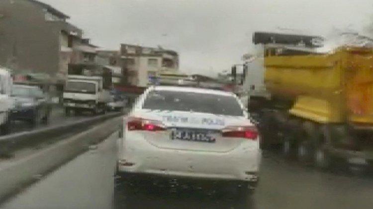 Polisle korsan taksi arasında nefes kesen kovalama
