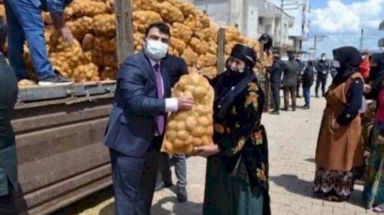 Patatesli poz kriz çıkardı