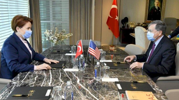 Akşener ABD Büyükelçisi Satterfield ile görüştü