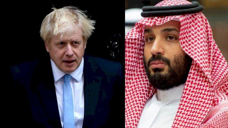 Gizli mesaj ortaya çıktı! Prens Selman'dan Boris Johnson'a 'müdahale et' uyarısı