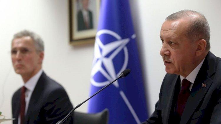 Erdoğan NATO Genel Sekreteri ile görüştü