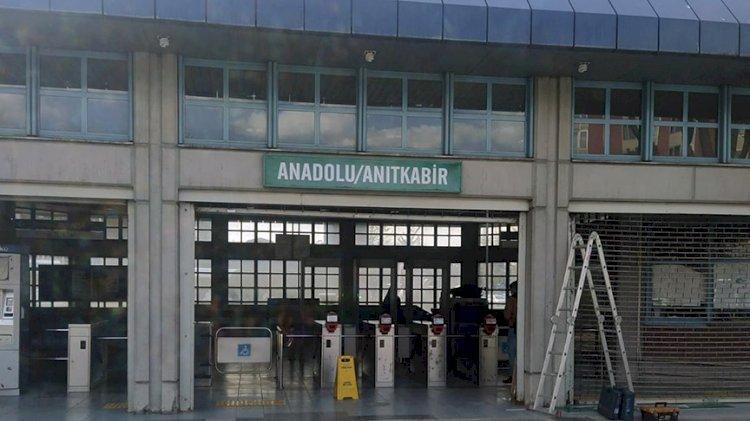 Ankaray Anadolu istasyonunun ismi Anadolu/Anıtkabir olarak değiştirildi