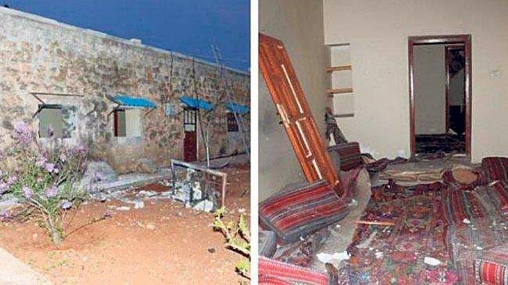 'SİHA'lar Öcalan'ın evini bombaladı'