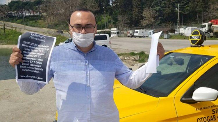 Pandemide indirim yapan taksiciye 'haksız rekabet' cezası