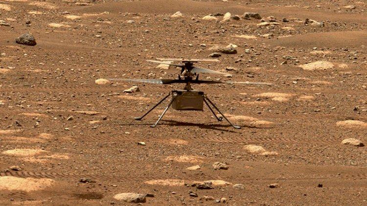 NASA paylaştı... Mars'ta ilk