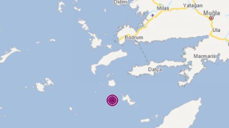 Muğla'da 4.4 büyüklüğünde deprem