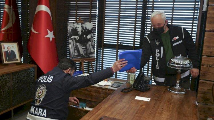 Parayı çuvalla götürmüşler... Ankara'da dev 'Arsa Avcısı' operasyonu