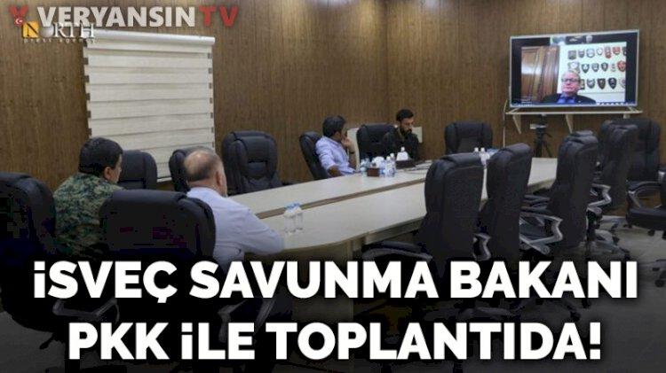 İsveç Savunma Bakanı PKK ile toplantıda!