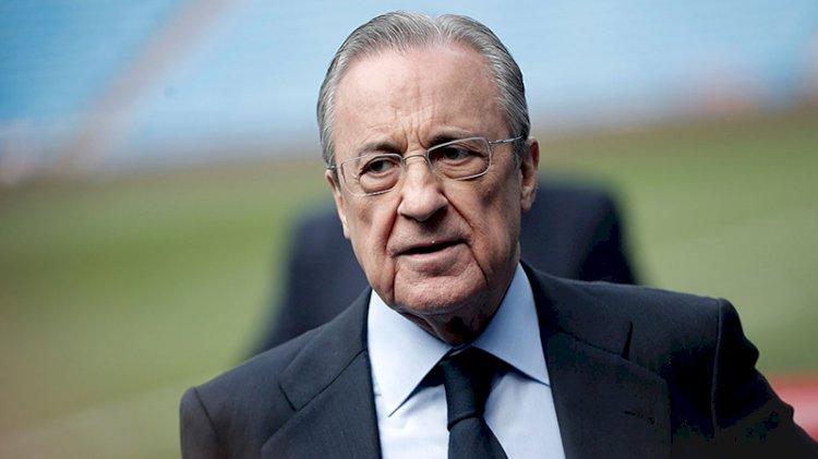 'Avrupa Süper Ligi' girişiminin başkanı Florentino Perez'den açıklama