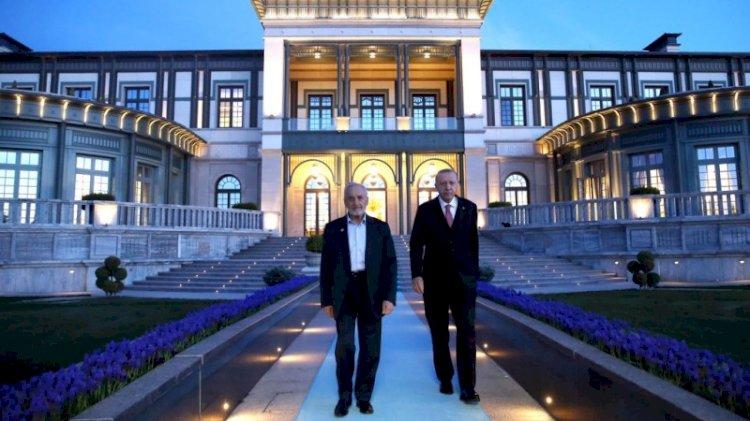 Erdoğan, Saadet Partili Asiltürk'ü Beştepe'de ağırladı