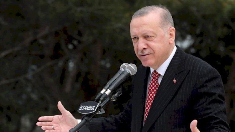 Erdoğan'dan 'vatan' benzetmesi: Araziyi arsaya dönüştürmek için belli bedel ödemek gerekiyor
