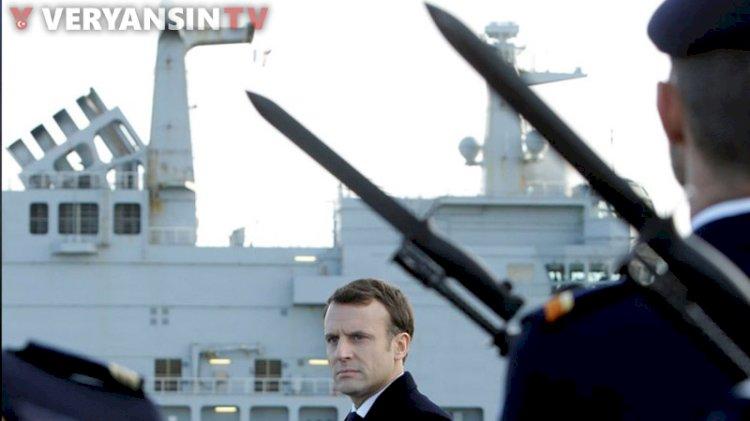 Fransa'da askerlerden Macron'a karşı sert uyarı