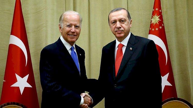 Cumhurbaşkanı Erdoğan ile Biden görüştü