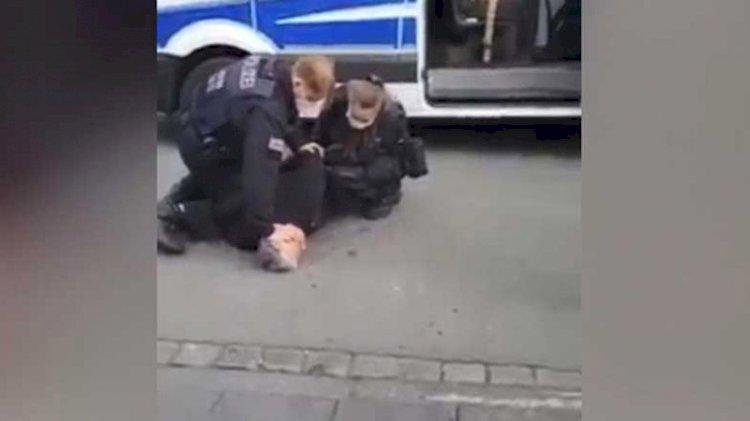 Almanya'da Türk iş insanı Emre Tümsek'e polis şiddeti! Georg Floyd olayını hatırlattı