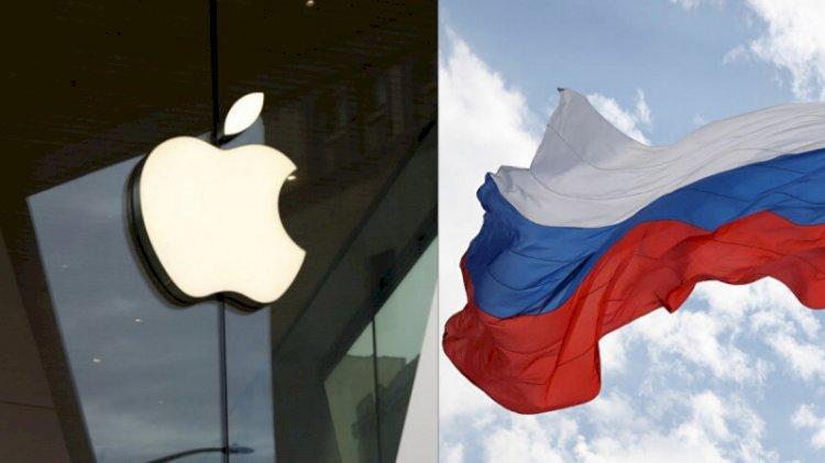 Rusya'dan Apple'a  ceza