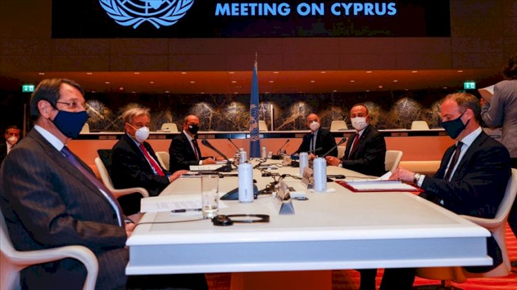 Kıbrıs konferansında ikinci gün… 'İki devletli' çözüm masada