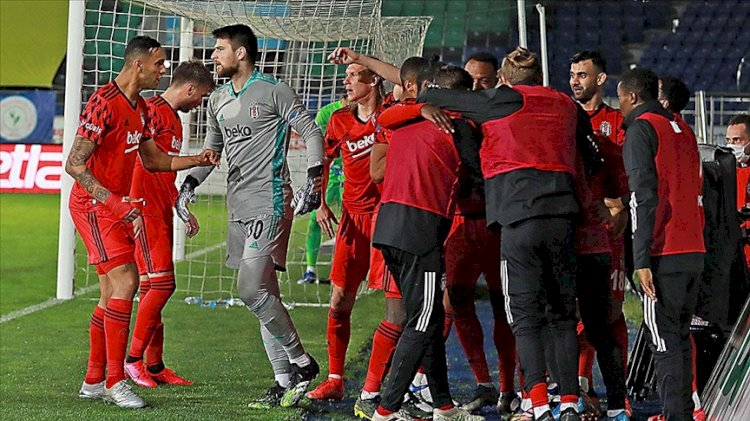 Beş gollü maçta Beşiktaş kazandı