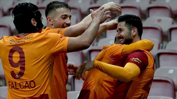 Galatasaray son anda kötü gidişi kırdı