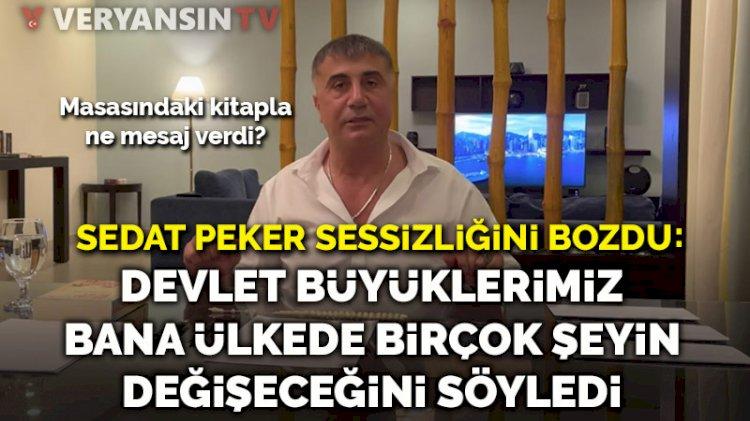 Sedat Peker sessizliğini bozdu… 'Devlet büyüklerimiz nisan ayında ülkede birçok şeyin değişeceğini söyledi'