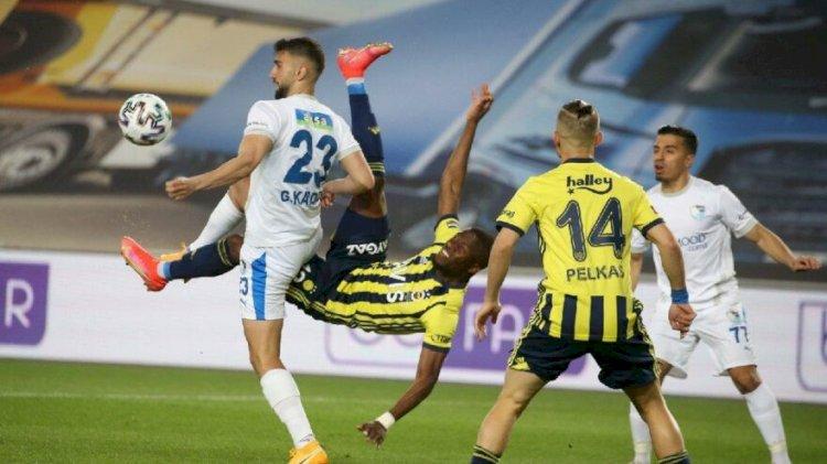 Fenerbahçe - BB Erzurumspor maçında tartışma yaratan penaltı kararı