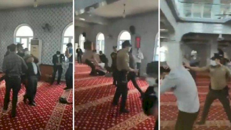 Emniyet'ten 'camide biber gazlı müdahale' açıklaması: Örgütlü provokasyon