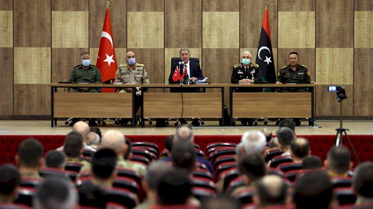 Türk askeri Libya'dan çekilecek mi... Hulusi Akar ne mesaj verdi?