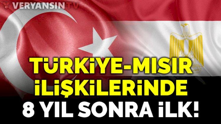 Türkiye ile Mısır arasında 8 yıl sonra bir ilk!