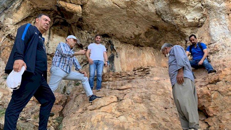 Mağarada 8 bin yıllık resimler bulundu! 'Sit alanı' başvurusu yapılacak