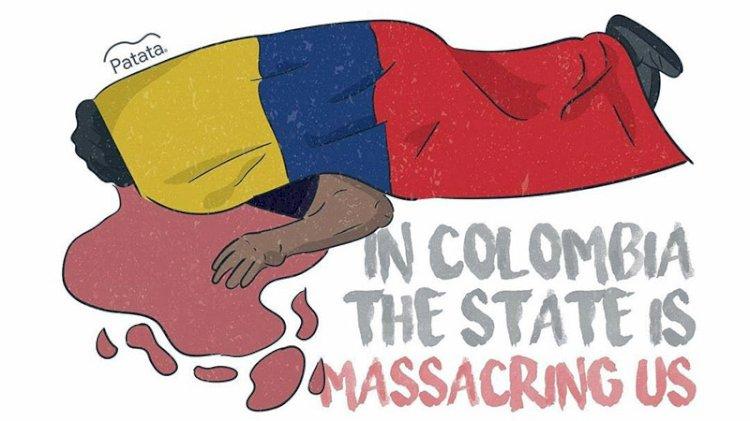 Kolombiya'da ne oluyor... 'SOS Colombia Nos Estan Matando' ne demek?
