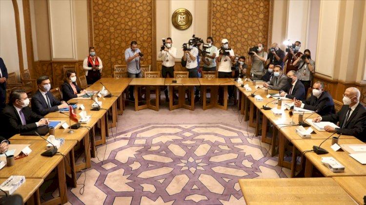 Türkiye-Mısır görüşmeleri… Dışişleri'nden açıklama