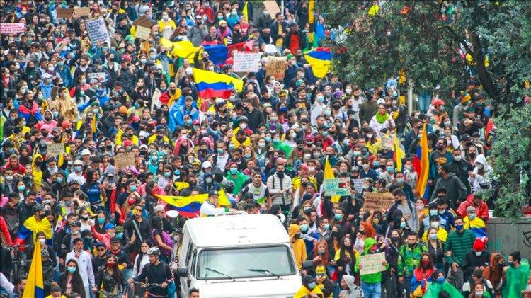 Kolombiya'daki protestolarda geri adım yok