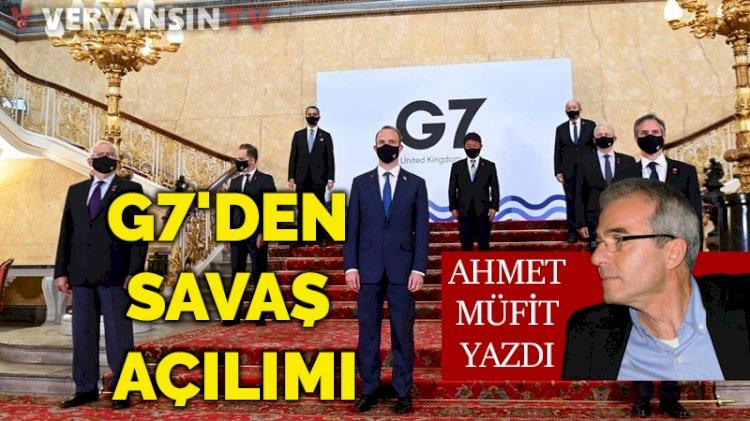 G7'den savaş açılımı
