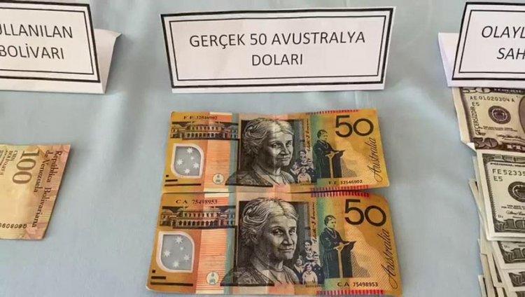 Gazete kağıdını dolar diye sattılar