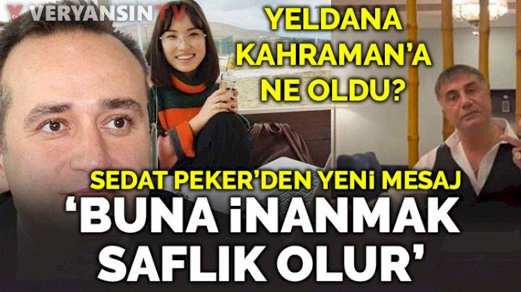 Sedat Peker'den 'jandarma' açıklaması: Buna inanmak safdillik olur